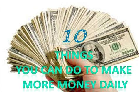 Things You Can Do To Make Money Online - 10 things you can do 28 images the 10 smoothest things you can do when living with