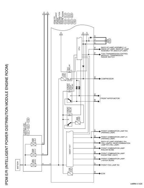 nissan rogue service manual wiring diagram ipdm e r