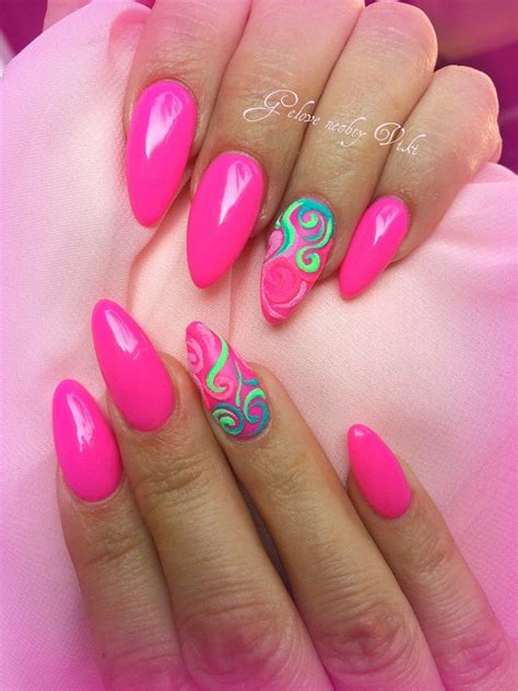 gel nail designs for middle aged women definitely summer pink nails for your holidays great with