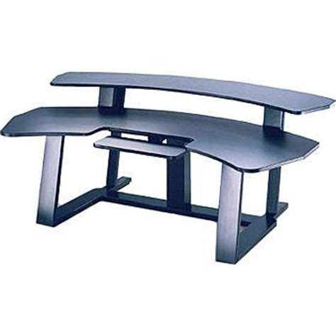 winsted e4687 94 quot wide digital desk with riser and e4687