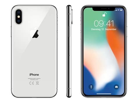 apple usa iphone x apple iphone x 64 gb silber online kaufen im gravis