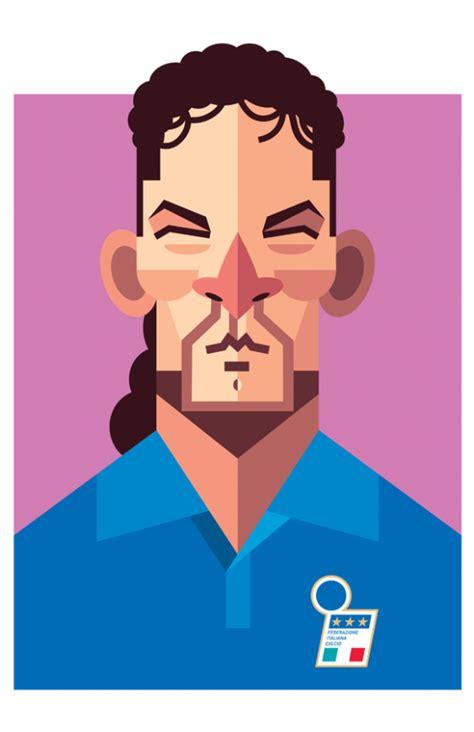 Tshirt Player Desain Nvf Ronaldinho 3 qeai artblog amazing minimalist soccer players