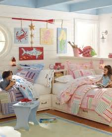 12 blue and pink shared kids rooms kidsomania