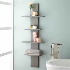 hanging selves wulan hanging bathroom shelf four shelves gray