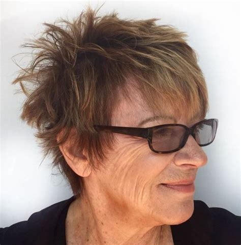 undercut hairstyles for older women 70 short shaggy edgy choppy pixie cuts and styles