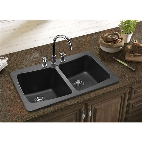 tropic brown granite with black silgranit sink kitchen undermount granite composite kitchen sinks home design