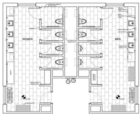 public floor plans restroom design public and entrance on pinterest