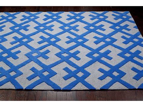 santa fe rugs nuloom santa fe blue rectangular area rug nuhjsan19b