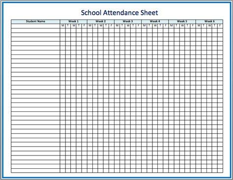 3 attendance excel templates excel xlts