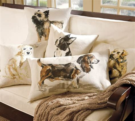 pillows with dogs on them decoration news
