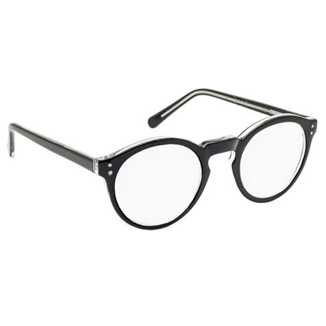 2 5x 10 diopter magnifying reading glasses black