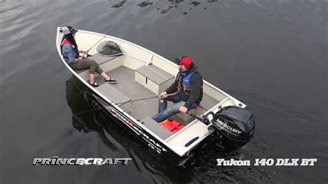 princecraft 2018 yukon 140 dlx bt fishing utility boat - Princecraft Fishing Boat Accessories