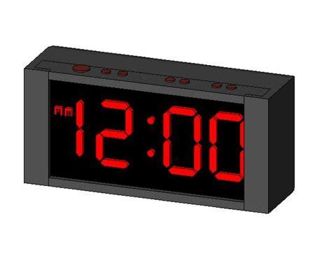 revitcity object alarm clock
