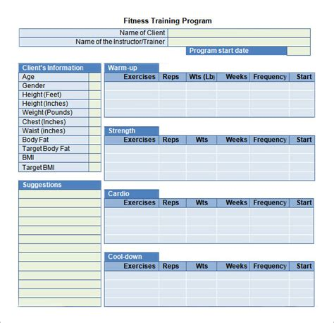 employee training schedule template