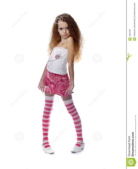 little cherish young models pics gallery meisje dat fotomodel uitdrukt royalty vrije stock