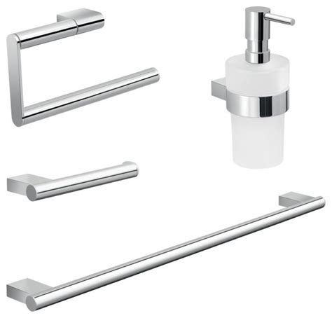 frosted glass bathroom accessories chrome brass and frosted glass bathroom accessory set