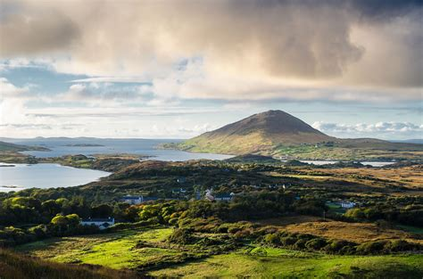 6 national parks of ireland castles cliffs green mossy