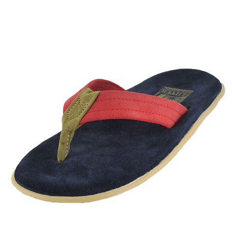 island pro slippers island slipper island pro pt203 navy olive mens