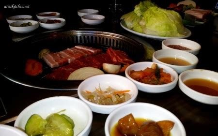 arirang restaurant korea  perth australia resep