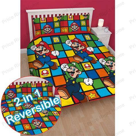 super mario comforter official nintendo super mario brothers bedding duvet cover