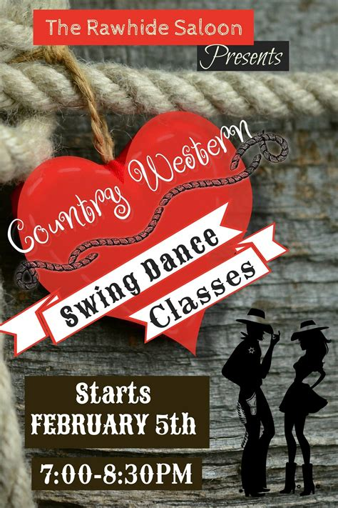 swing classes swing classes the rawhide saloon