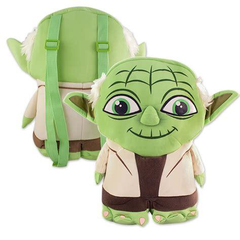 star wars yoda cartoon plush backpack superheroden com