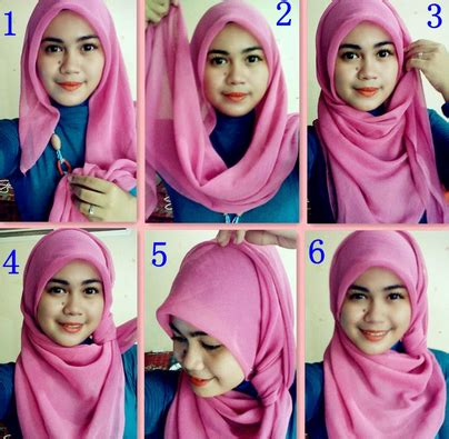 Jilbab Segi 4 Shabbi Segi 4 Flower Jilbab Shabby Chic til elegan dengan tutorial modern untuk ibu menyusui
