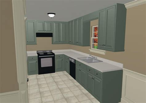 kitchen color schemes for kitchen paint colors with mint green cabinet and white countertop and
