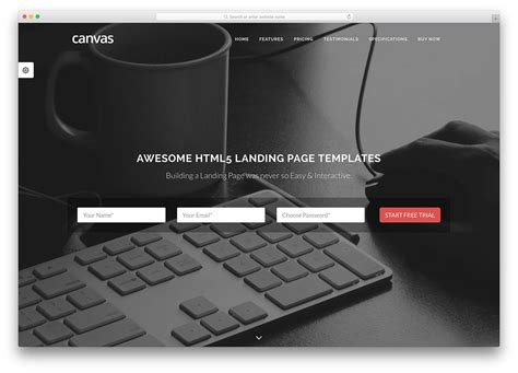 html welcome page template 28 awesome html5 landing page templates 2018 colorlib