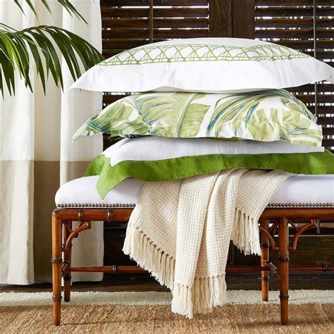 williams sonoma bedding tropical leaf bedding williams sonoma
