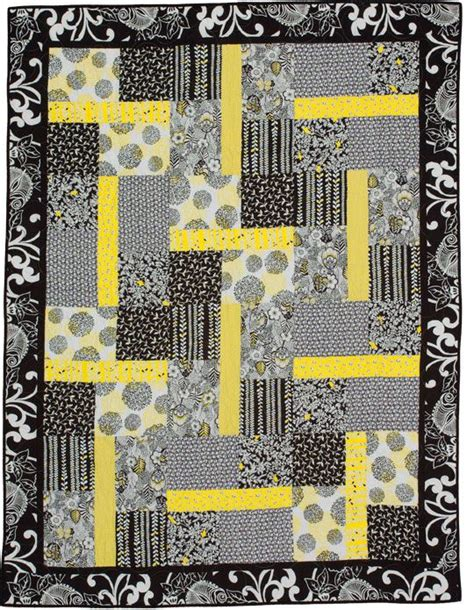 black white and yellow quilt pattern black yellow blocks easy quilt quilt patterns high