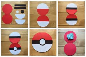 How To Make Pokeballs Out Of Paper - celebrate the big small simply detailed occasions