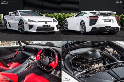 lexus lfa price interior lexus lfa for sale in australia with 1m price tag wheels