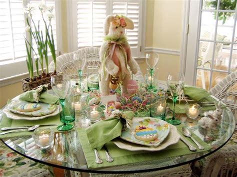 spring tablescapes easter tablescapes