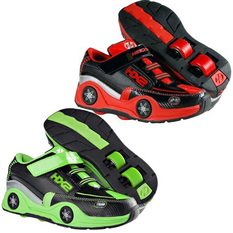 roller skate shoes new heelys boys junior roller spin skate