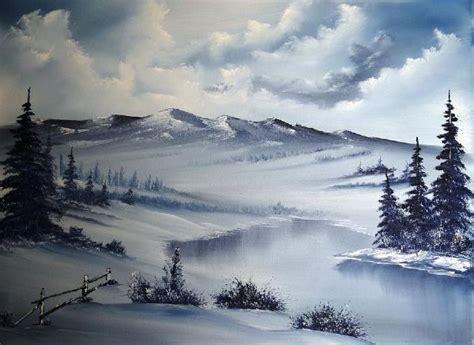 bob ross painting holidays uk bob ross snow on the range paintings bob ross snow