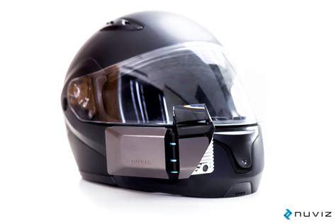 Motorradhelm Hud by Nuviz Hud Heads Up Display For Motorcycle Helmets Led