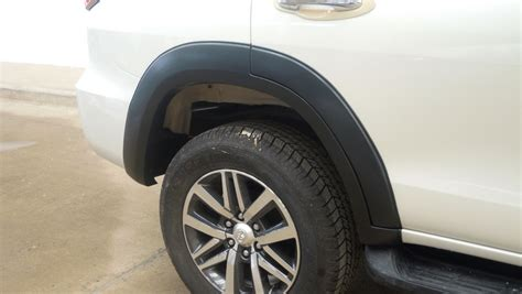 All New Fortuner Fender Activo Aksesoris Toyota Fortuner toyota new fortuner 2016 matt black fender flares wheel arch install with 3m ebay