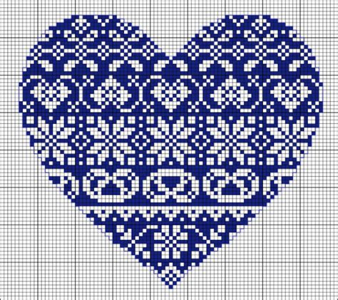 heart pattern for cross stitch cross stitch heart pattern free embroidery pattern