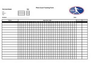 Pitching Chart Template by Pitching Chart Template Pictures To Pin On