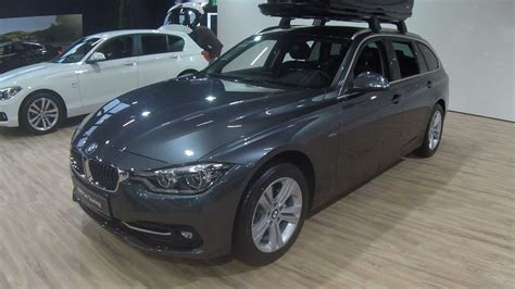Bmw 3 Series 2019 Grey bmw 3 series touring x drive f31 facelift mineral grey
