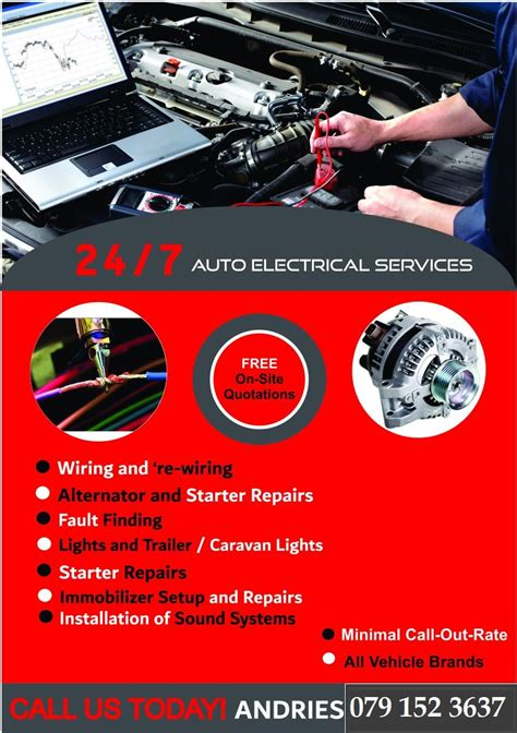 24 7 Electrical Services by 24 7 Auto Electrical Services Auto Electrical Repair