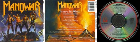 Cd Manowar Fighting The World fighting the world cd sir laws manowar collection