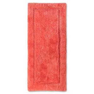 Coral Bathroom Rug Threshold Botanic Bath Rug Runner Coral Starfish Target