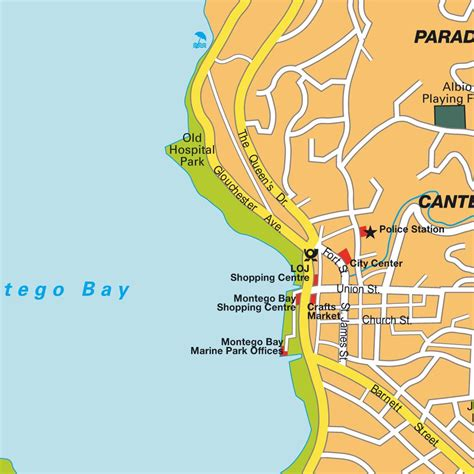 Free Floor Plan Design by Map Montego Bay Jamaica Maps And Directions At Map