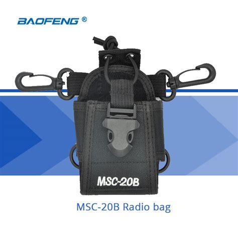 Taffware Tas Walkie Talkie For Baofeng Msc 20b baofeng walkie talkie accessories msc 20b holder radio bag for cb radio baofeng uv 5r uv