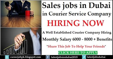 Part Time Executive Mba In Dubai by Sales Executive In Dubai In Courier Service Company