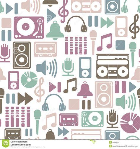 pattern definition music music pattern cartoon vector cartoondealer com 28644161