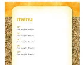 school menu templates doc 590695 lunch menu template free lunch menu