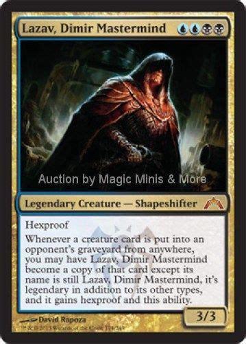 legendary mastermind card template gatecrash lazav dimir mastermind mythic magic the